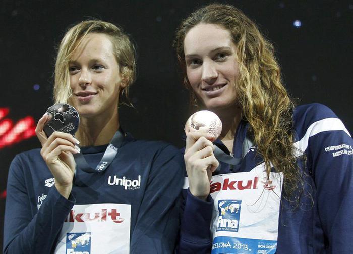 Nuoto: Pellegrini messaggio su Twitter dedicato a Camille Muffat, foto su Instagram
