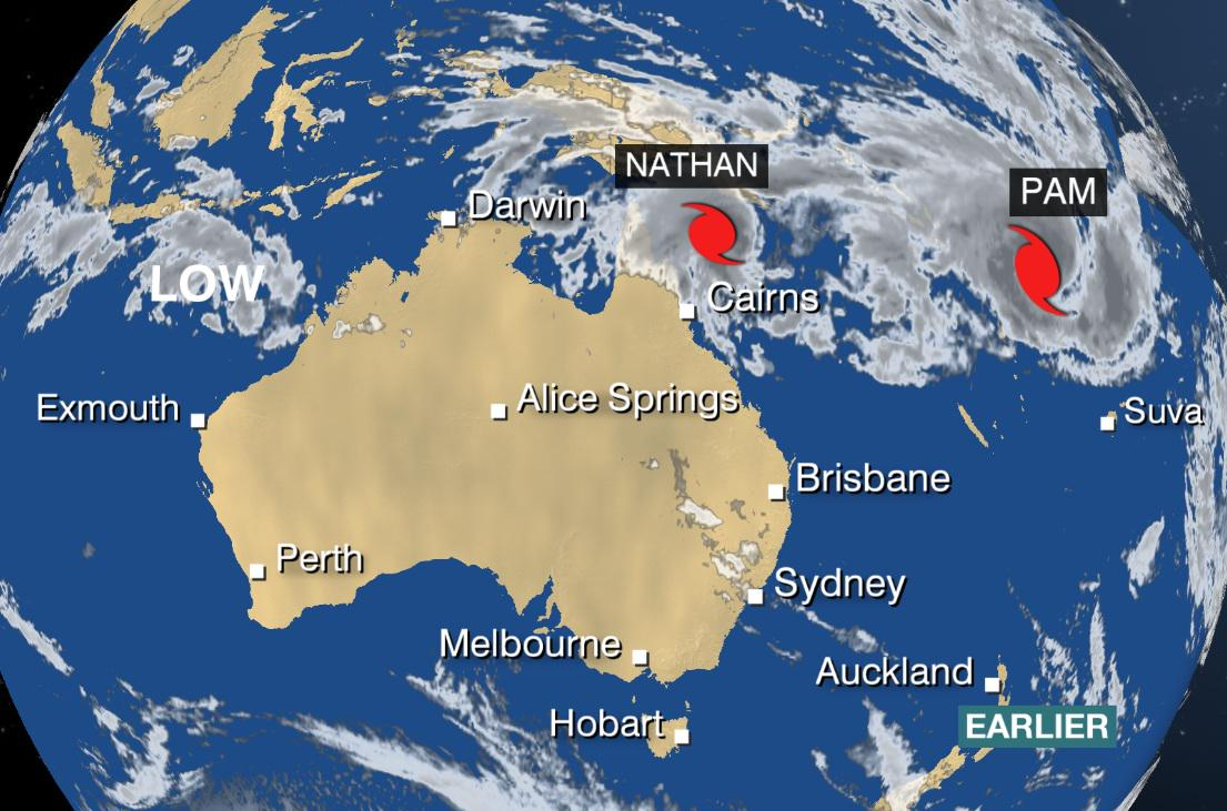 Tropical Cyclone Australia Tropical Cyclone Nathan Has
