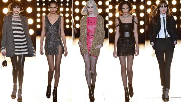 Punk attitude and perfect coats at #saintlaurent @ft show report http://t.co/6kPTholZSl http://t.co/DsV8GuSvfR