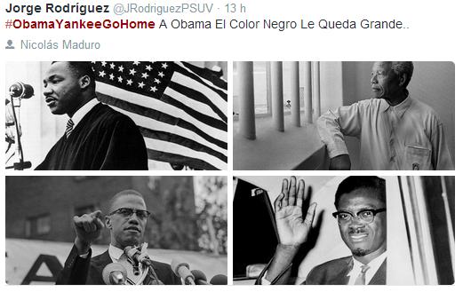 OBAMA en TIERRA de NADIE El NEGRO le viene GRANDE y como BLANCO no cuela #ObamaYankeeGoHome  http://t.co/A4IsxPrMk4 http://t.co/l0Wl3QkMLK