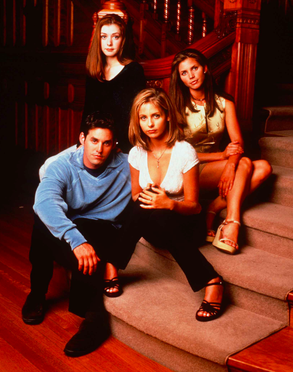 """Fun fact: """"Buffy The Vampire Slayer"""" premiered on this day 18 years ago @SarahMGellar @AllCharisma @alydenisof http://t.co/pHMZQjY4vR"""