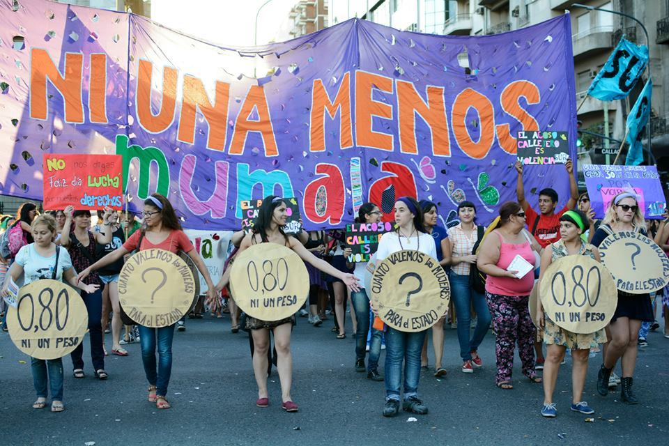 #NiUnaMenos por ser mujer en la Argentina http://t.co/g2Y8bG0Il3
