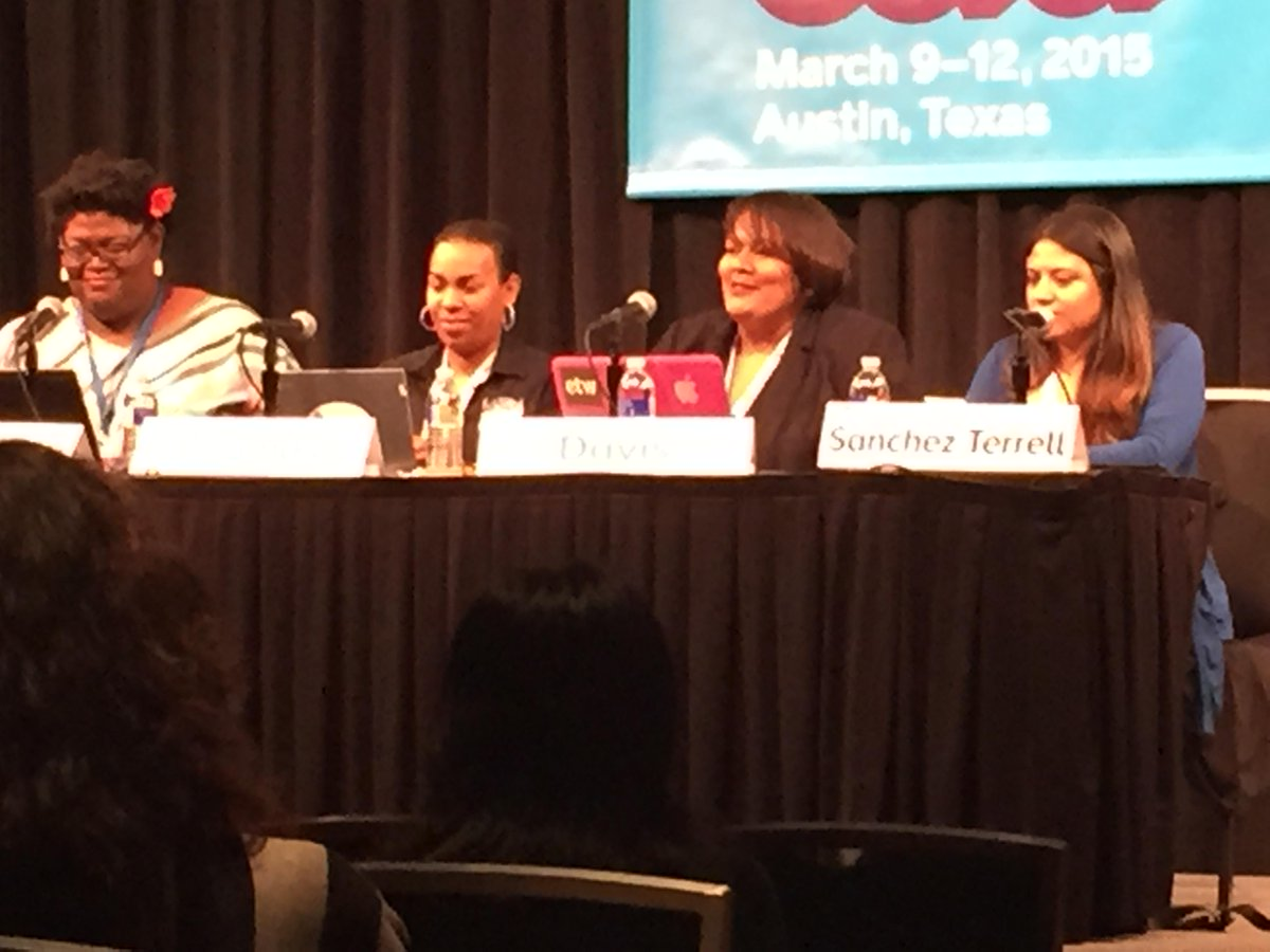 Women of Color in Ed Tech @SXSWedu  #pennedchat #SDP  #digidiversity  Inspiring!  These ladies have it going on! http://t.co/UCHe3dZLBM
