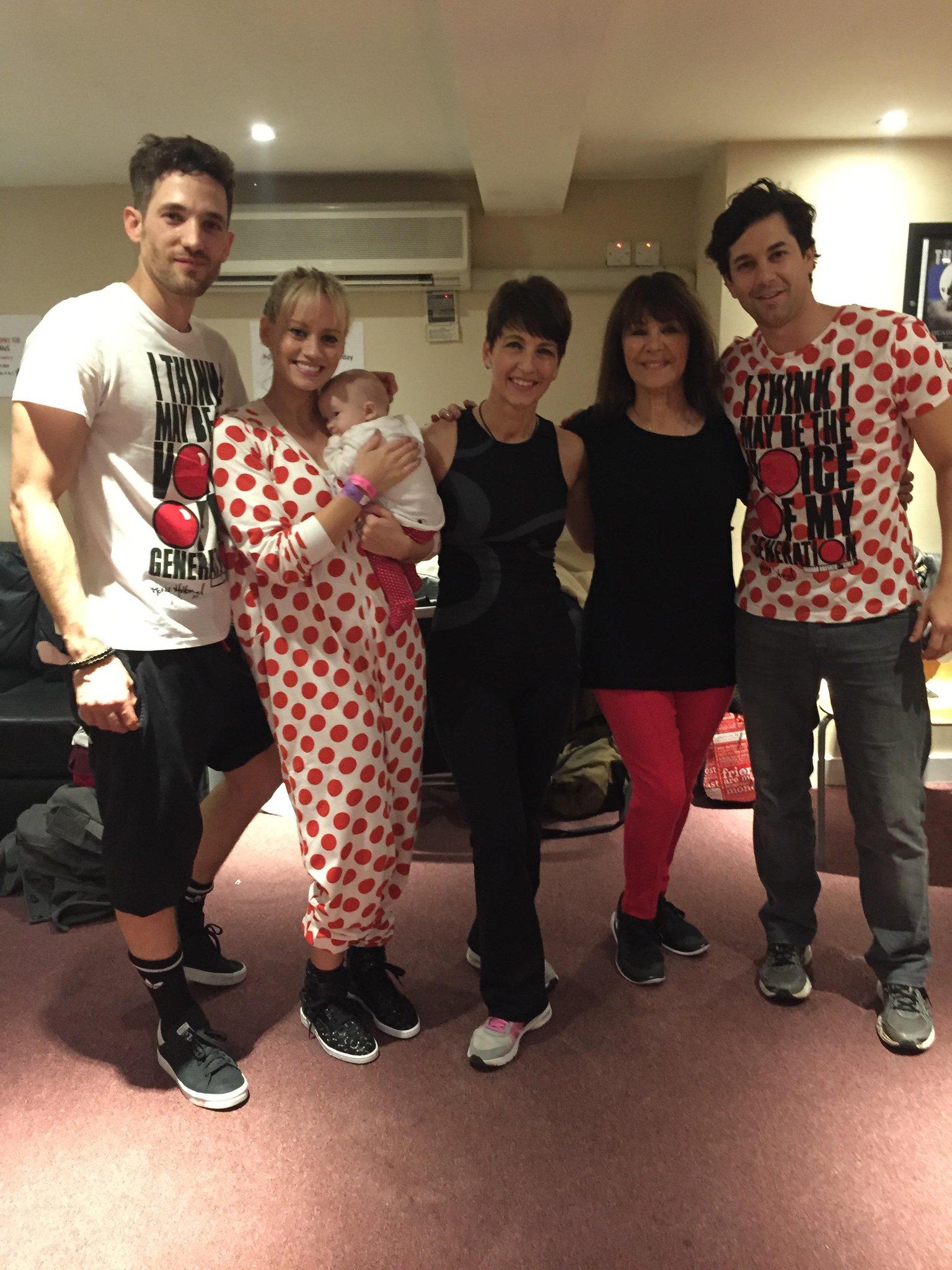 RT @arlenephillips: Regrouping @rednoseday @AnnaKennedy1 @KimberlyKWyatt @max_rogers #BabyWillow @ThatAdamGarcia #danceathon http://t.co/Iv…