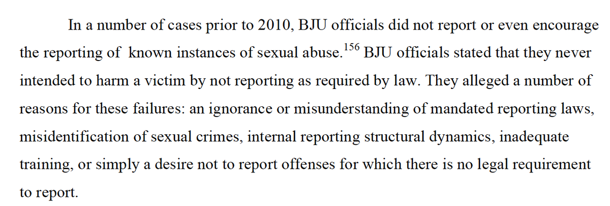 In a number of cases. #GRACEReport vs. @BJUPresident #ConOrCandor #BJUisNOTSafe Page 190. http://t.co/aB8X7BZ1C4