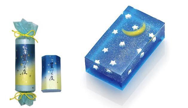 京都の老舗和菓子店 亀谷清永さんの「星づく夜」がとっても綺麗で素敵! pic.twitter.com/Jj7bSCENXf