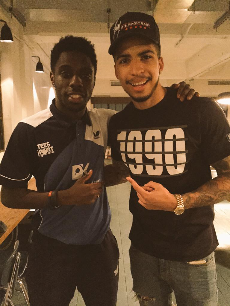 What a top guy #TroyIsThatGuy @TROYmagician nice meeting you brother, he got me with a trick