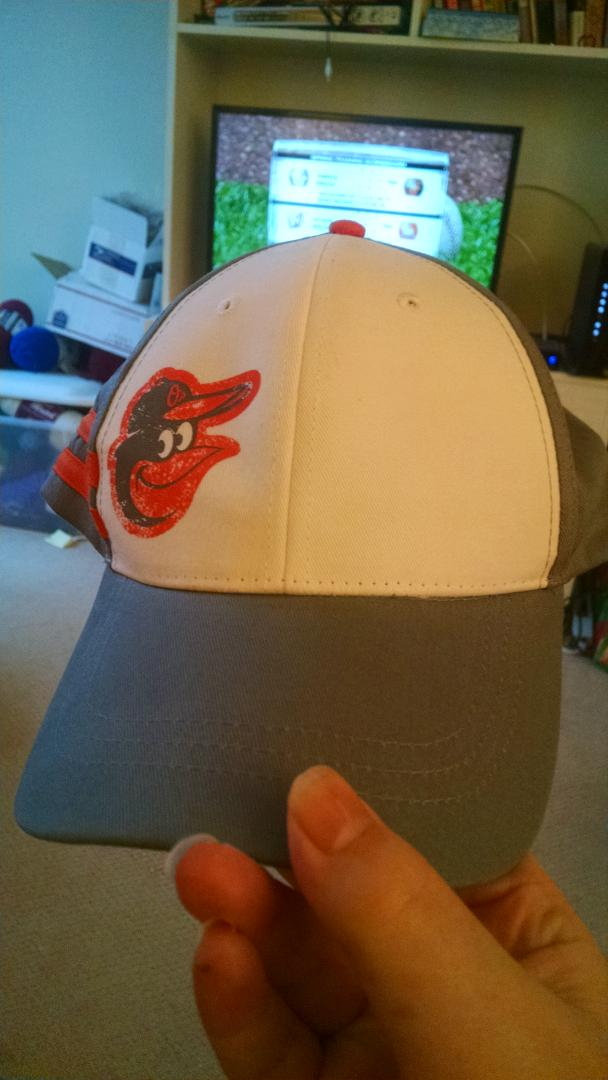 Look what came in the mail, thank you @Orioles #OsBirdsNest http://t.co/SRHgCZLcy0
