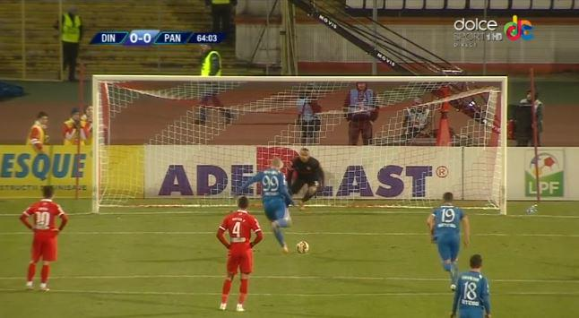 Naumovski could not save this penalty