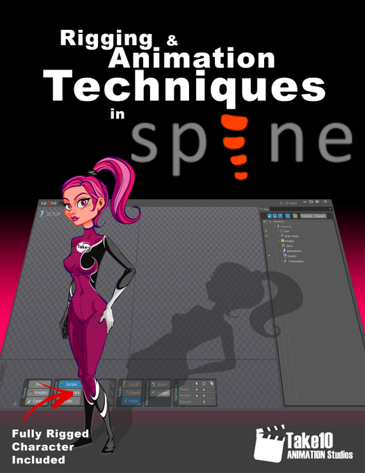 Rigging and Animation Techniques in Spine E-Book Coming Soon