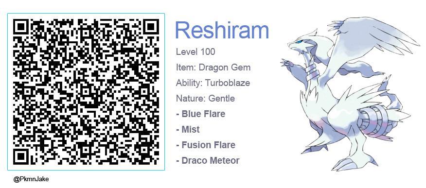 Pokemon Shiny Reshiram Omega Ruby Wwwgenialfotocom
