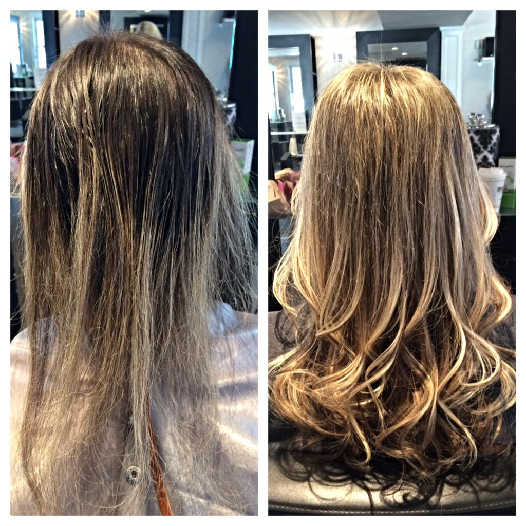 Tealhairmakeup On Twitter Color Extensions Reconstructive Work