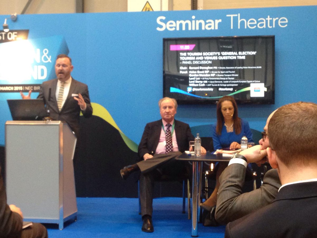 Great opening of #tourismqt @BoBI_event by @bernarddonoghue with Lord Lee and @HelenGrantMP http://t.co/aH6jqZ376h