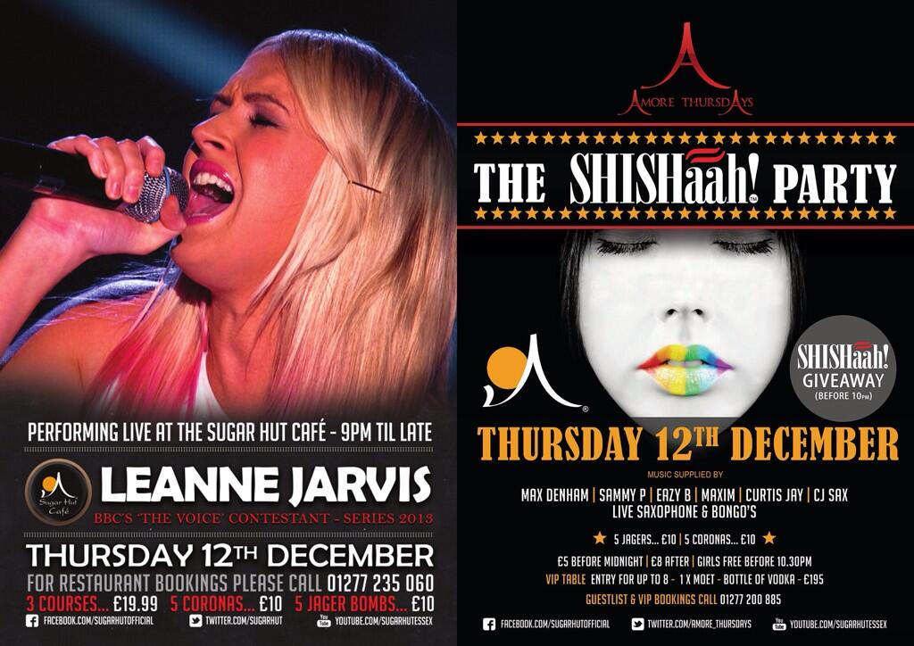 This Thursday night in the @SugarHutCafe @LEANNEJARV Sings live! http://t.co/GVDVZOWXbk