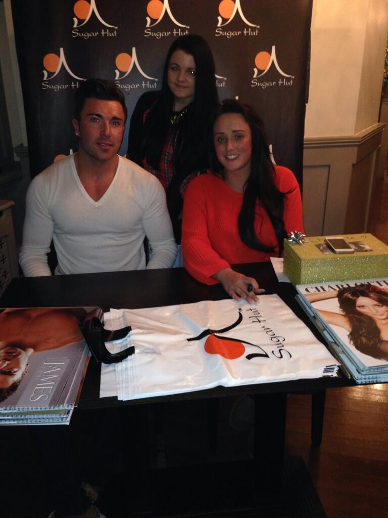 RT @kirstymccreight: @CharlotteGShore & @JamesGShore lovely meeting you's 💃 http://t.co/3EMLbyfHxq