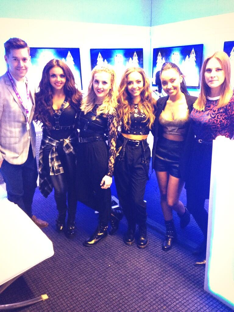 Heyyy it's @richclarke and @katshoob from backstage at #capitaljbb with @LittleMixOffic http://t.co/W3JUsOdXJc