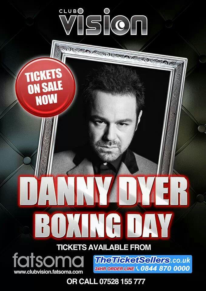 RT @ClubVisionWsM: @MrDDyer is going to Live at Club Vision this boxing day! For tickets go to http://t.co/HpNuU4yUfL http://t.co/muloAPgzem