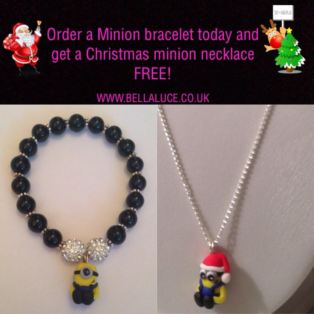 RT @BellaLuce: @NataleeValleys can you please RT this minion offer for me? Xxx http://t.co/0tG3VnxjX7