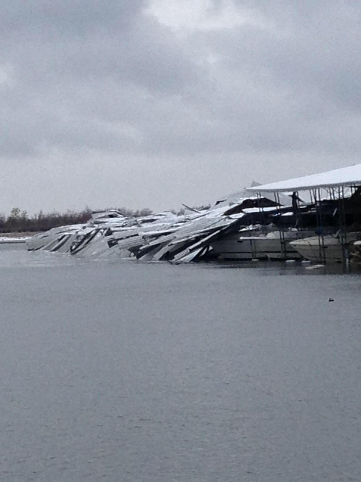 Twitter / MeredithNBC5: PIC: boats at Lake Lewisville ...