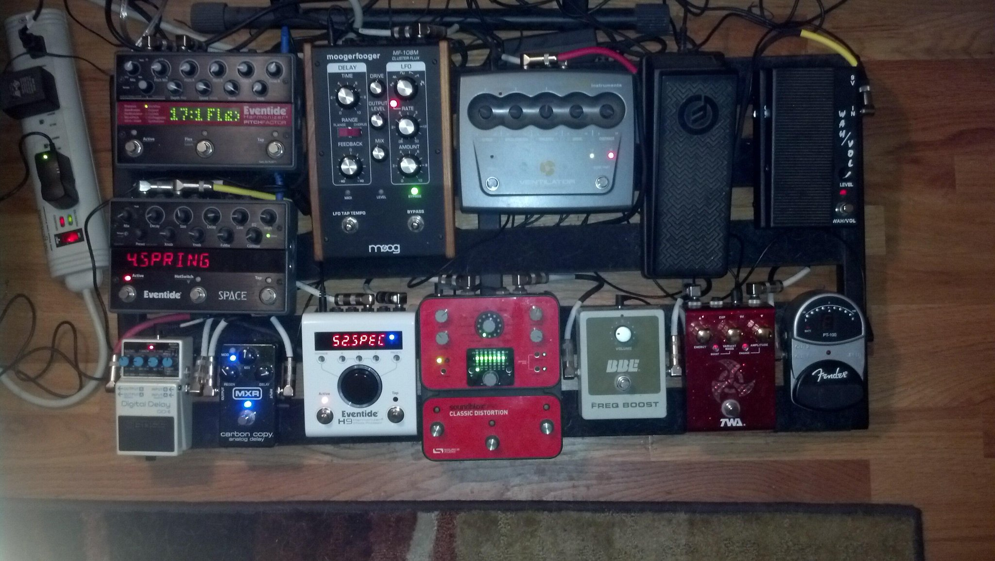 The Dedicated Pedalboard Experiment Wiring A Pedal Board Roadrunner Portable For Gigging That Is Ever Changing Depending On Gig Also Sits In Basement With My Bigger Amps