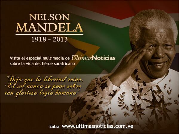 Nelson Mandela Imposible Frases Célebres Nelson Mandela
