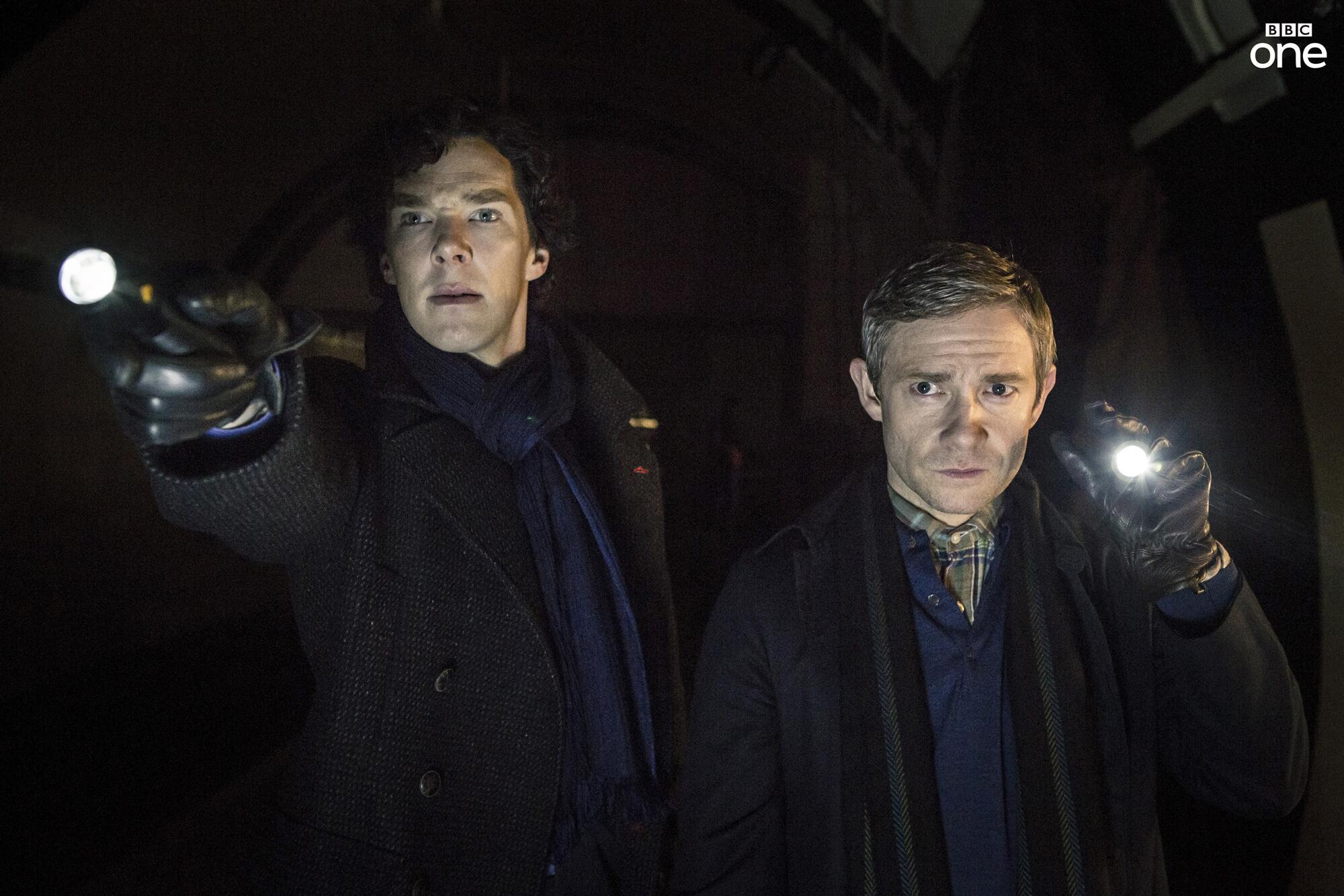 Twitter / BBCOne: Sherlock and Dr Watson explore ...