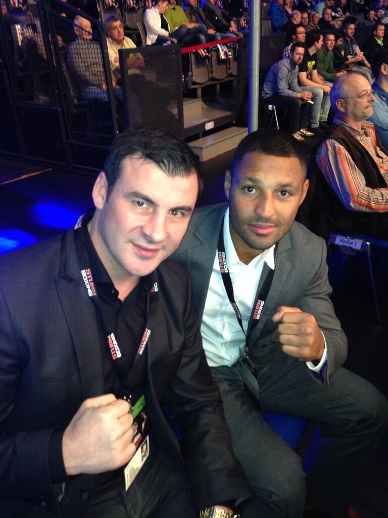 At the Arena with @SpecialKBrook #BarkerSturm http://t.co/XWfBbgJ46c