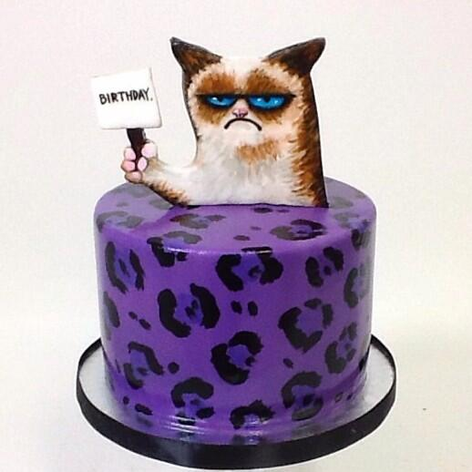 Melody Brandon on Twitter Grumpy cat cake for our fabulous