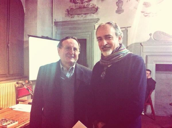 @PierVittBuffa e #andreaBiagiotti per la presentazione di #Iohovisto iohovisto.it @archiviodiari http://t.co/k0rYcdKsZb