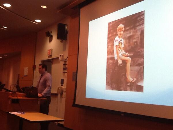 #NECR13 Vermillion became interested in cross-cultural interactions when his family moved to Indonesia as a child. http://t.co/q2niO0rpF2