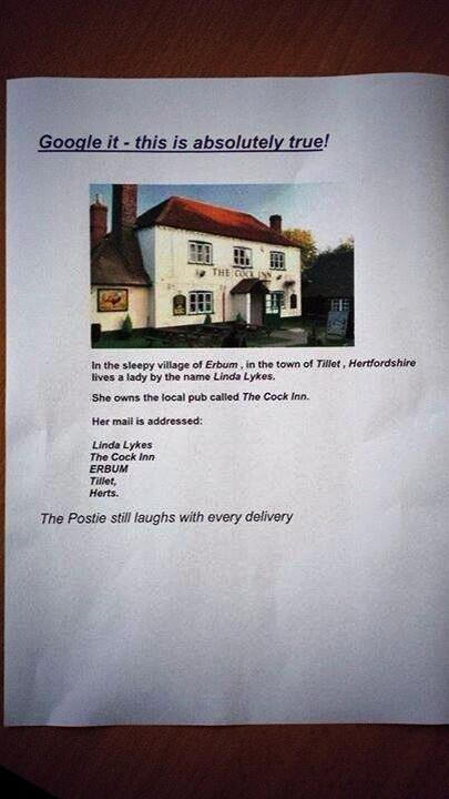 "SADLY NOT.   RT ""@thejeremyvine Check this out - real person, real address http://t.co/sqAsYHpKkJ"" (via @JohnFacer2)"