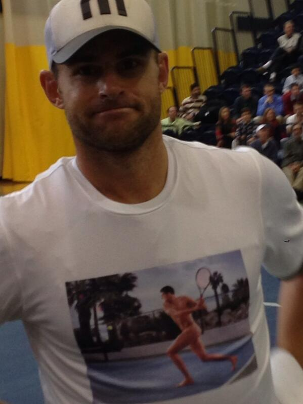 Andy roddick naked look