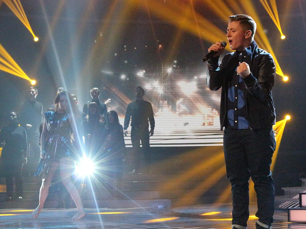 Did @nickymcdonald1 return to form with his @eltonjohndotcom song? Download: http://t.co/Fm4tKRaRbJ #xfactor http://t.co/z0F89Qx0h8