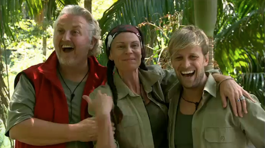 Good luck in the trial team!!! @David_Emanuel @lucyparge and @KianEganWL  #imacelebrity http://t.co/fdSivXXgu5