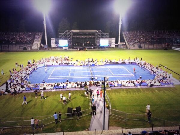 Court Delpo vs Hewitt - La Plata - Narduzzi