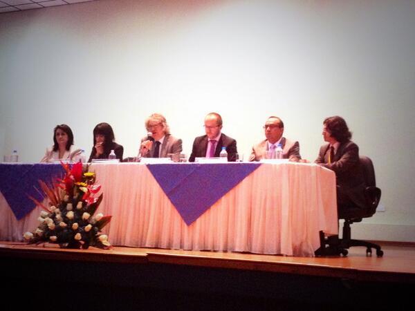 Se inaugura #MingaTEC en el @IAENEDU el #conocimiento y la #tecnologia como bien común @CiudadYachay http://t.co/z0gziPAPD0