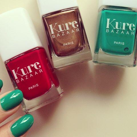 Twitter / Lisa_Eldridge: Green nails for me today From ...