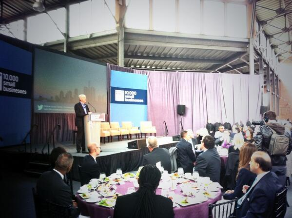 Gov. Rick Snyder at 10,000 Small Businesses launch in Detroit