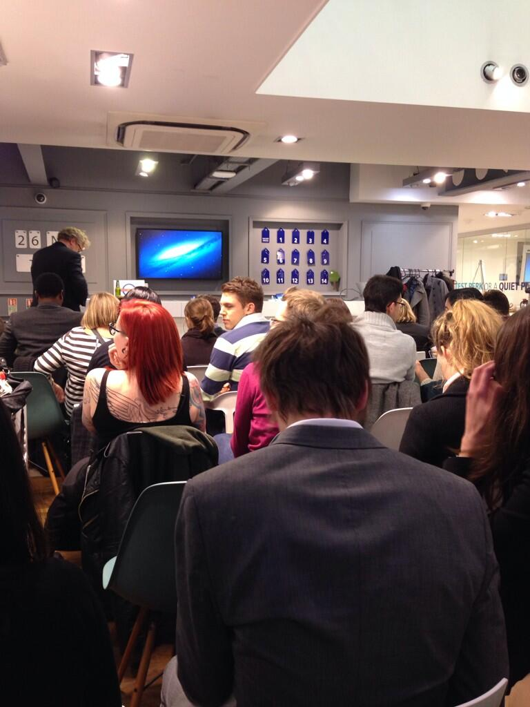 Twitter / Liliholl: At #smlondon to learn more ...