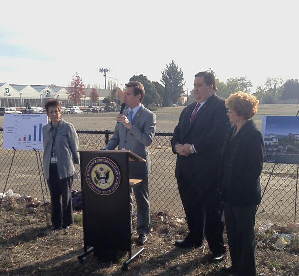 Rep. Eric Swalwell in Fremont, CA announcing Restarting Local Economies Act