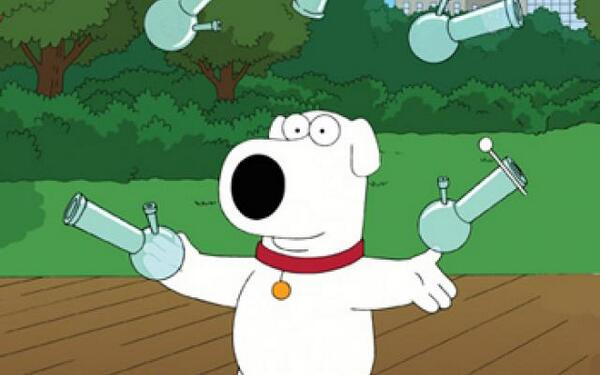 Brian Griffin Smoking Weed High times on twitter: