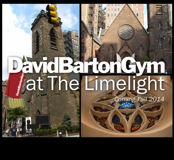 A new @DavidBartonGym #Chelsea - we will be moving to the world famous #Limelight @ 20th&Sixth Fall 2014 #Inspired http://t.co/HC9HVvyIP0