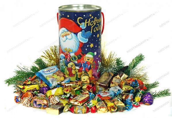 Cладкие новогодние подарки оптом