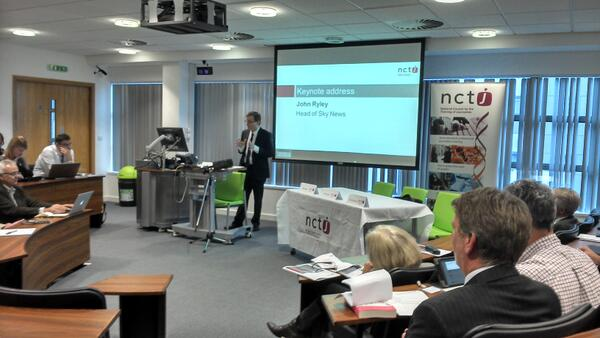 Thumbnail for NCTJ Journalism Skills Conference: Welcome Speech and Keynote