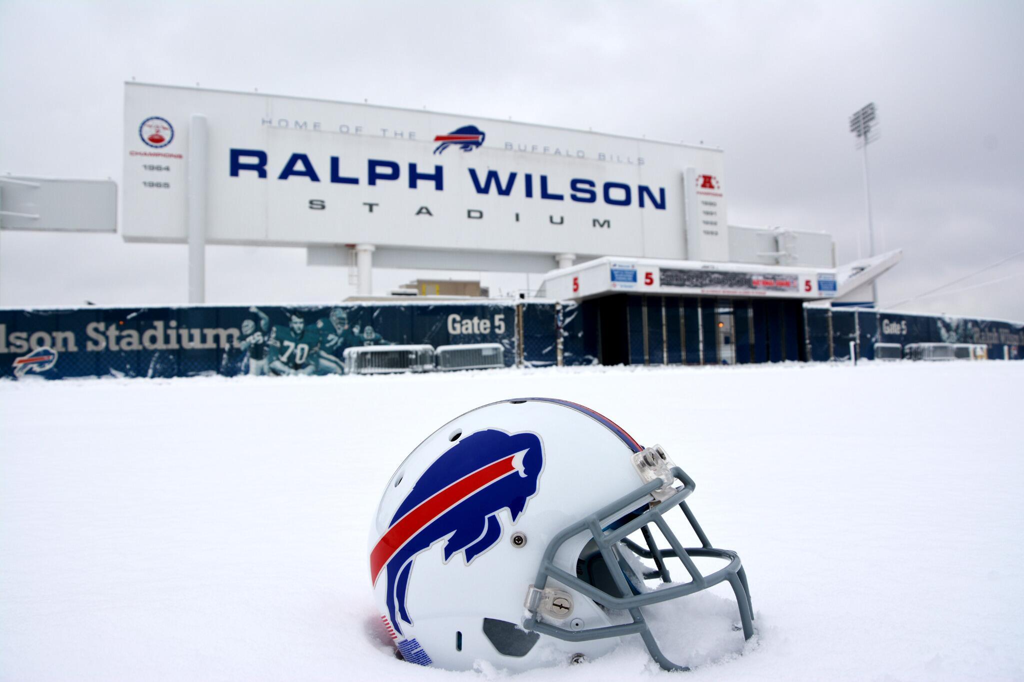 Photo Snow Falls at Buffalo