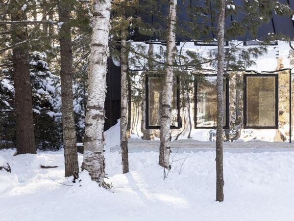 One of my favourite exteriors ever...blending with the scenery...Lake House by Uufie http://t.co/C0tXI2uQpq