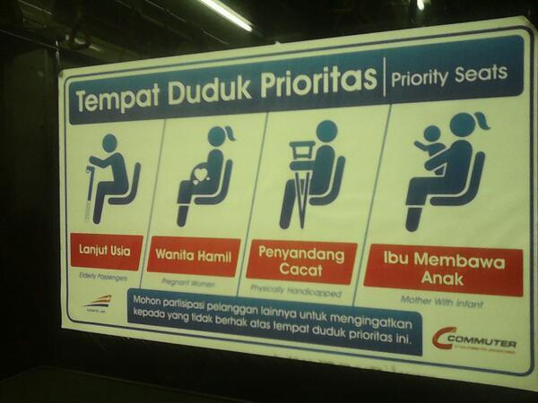 Tempat Duduk Prioritas