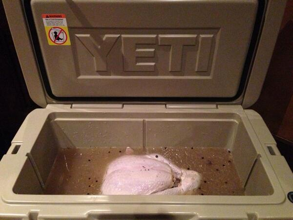 bink s outfitters on twitter yeti coolers perfect thing to brine your turkey yeticoolers binksoutfitters http t co hsixobgyr0 yeti coolers perfect thing to brine