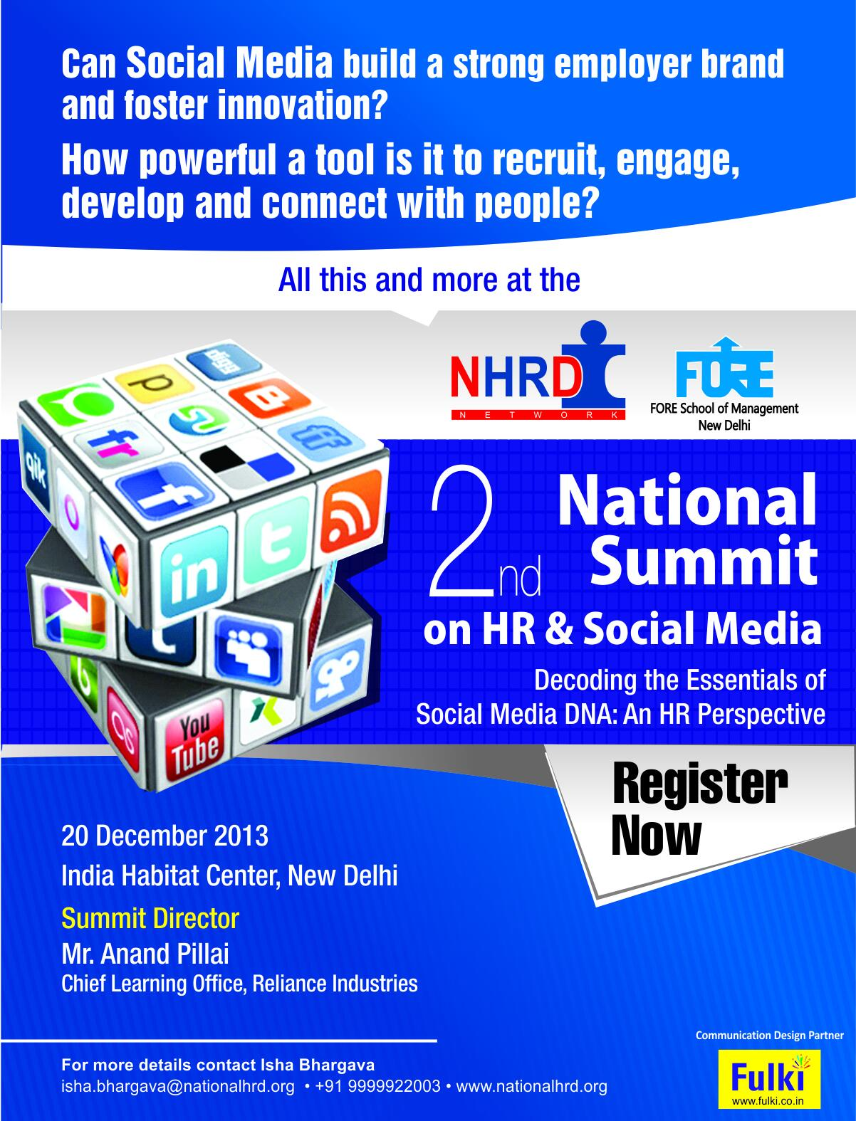 Twitter / Anand__Pillai: Speaking @NHRDN 20th Delhi- ...