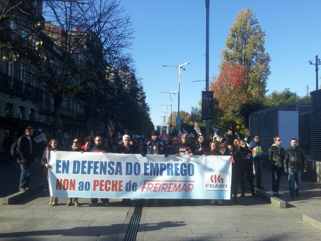 Twitter / SilviaBP10: En defensa do emprego. Non ...